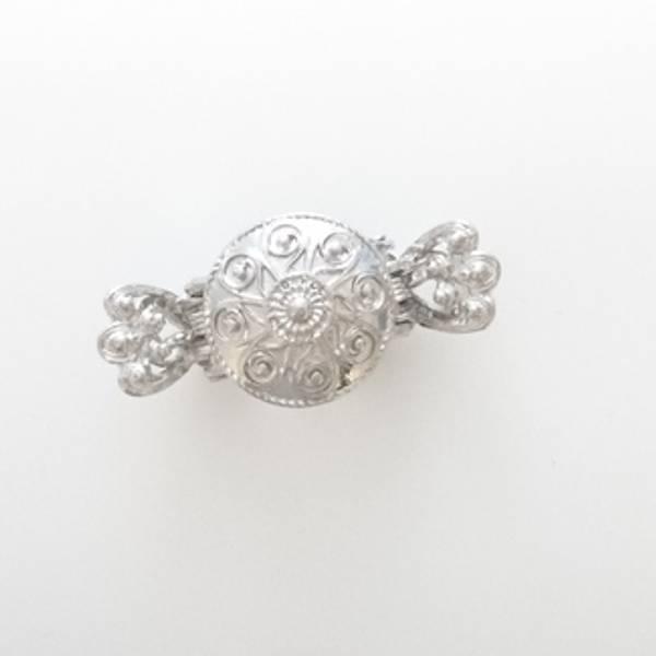 Bilde av HEDDA BUNADSHÅRKLYPE liten sølv