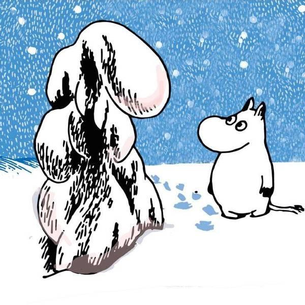 Bilde av Mummi serviett tung snø