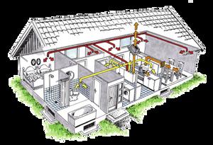 Bilde av Balansert ventilasjon