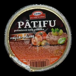 Bilde av Patifu tomat-oliven postei.