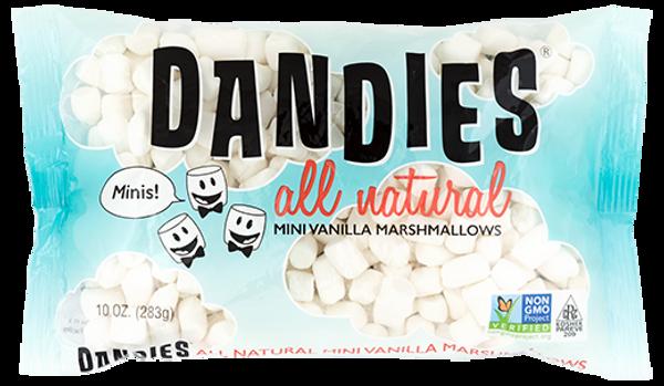 Mini Vanilla Marshmallows Dandies 283 g. B.f 30.6