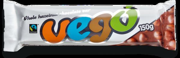 Vego Sjokolade med Hasselnøtter 150 g