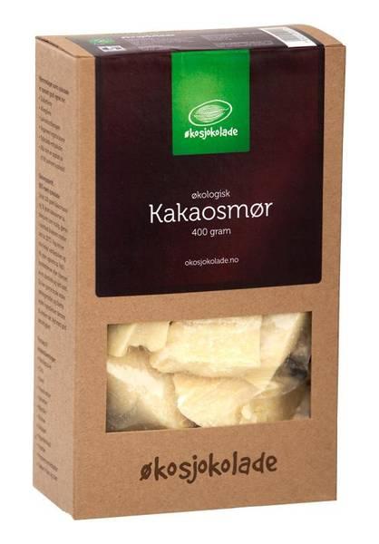 Kakaosmør (økologisk, av rå kakao) 400 g