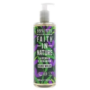 Bilde av Faith in Nature Lavendel og Geranium håndsåpe 400