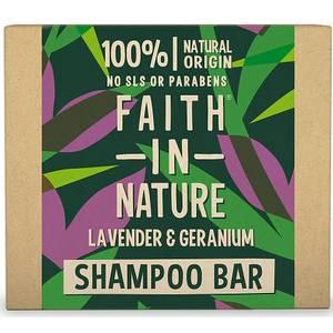 Bilde av Faith In Nature Lavendel & Geranium Shampo bar