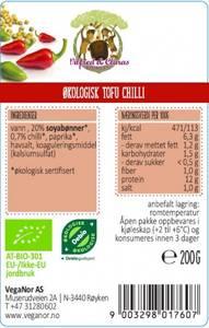 Bilde av Vilfred & Clara økologisk Tofu med Chili.