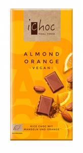 Bilde av iChoc sjokolade m/mandler og appelsin