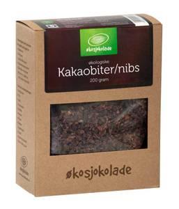 Bilde av Kakaobiter/nibs(økologisk, rå), 200 gram