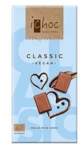 Bilde av iChoc lys sjokolade classic 80 g