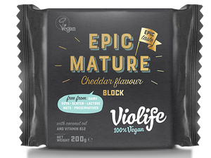 Bilde av Violife Epic Mature Cheddar Smak.
