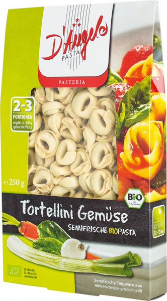 D'Angelo  tortellini med grønnsaker. B.f 29.6