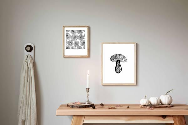 Bilde av Mushroom no 2 plakat