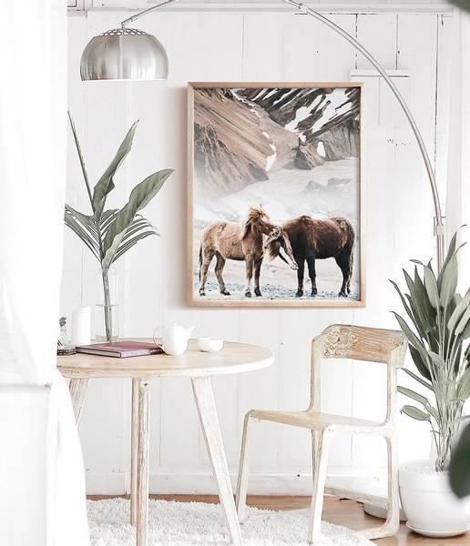 Bilde av LOVING HORSES POSTER