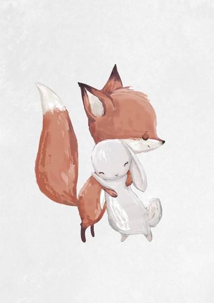 Bilde av FOX & BUNNY POSTER