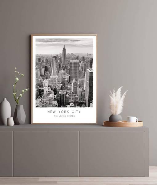 Bilde av NEW YORK CITY PLAKAT