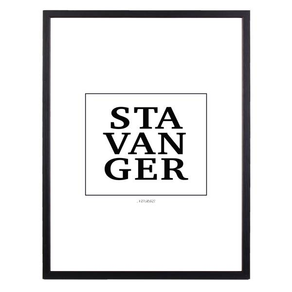 Bilde av STAVANGER POSTER