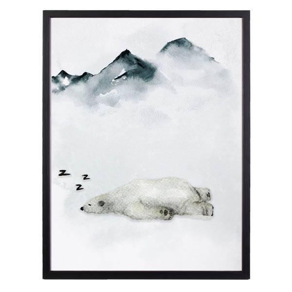 Bilde av SLEEPING BEAR POSTER