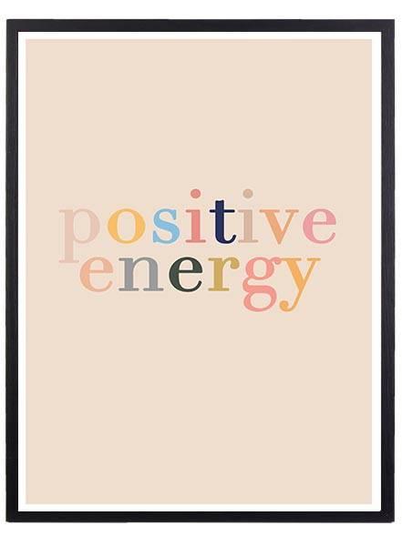 Bilde av POSITIVE ENERGY PLAKAT