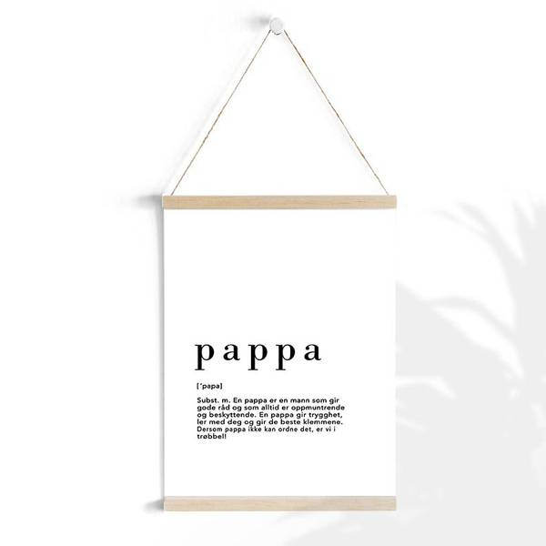 Bilde av PAPPA POSTER