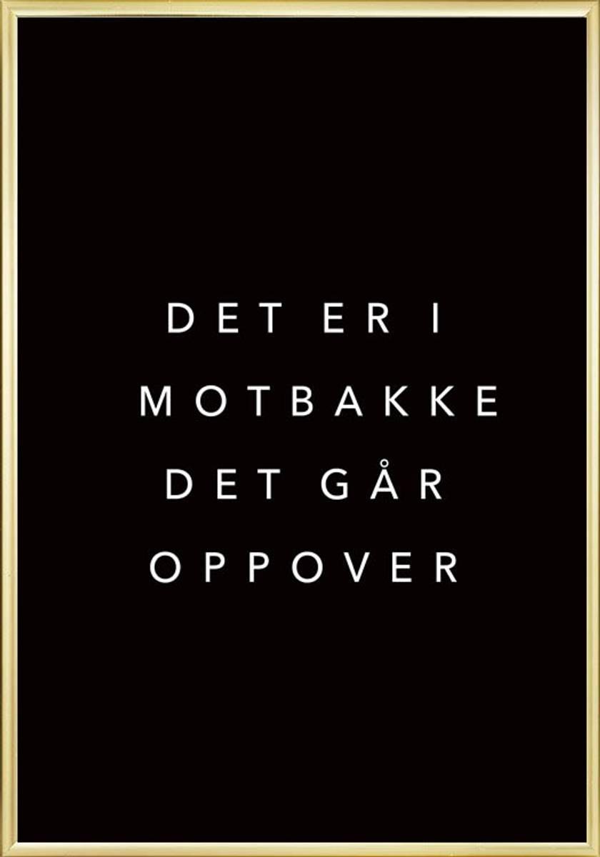 MOTBAKKE POSTER