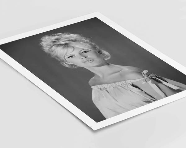 Bilde av Birgitte Bardot no 1 plakat