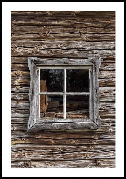 Bilde av COTTAGE WINDOW PLAKAT