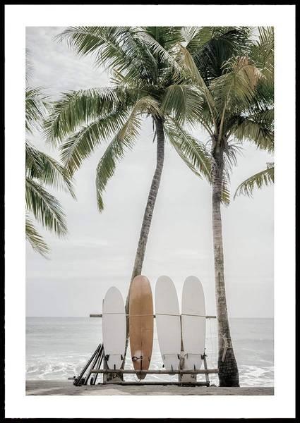 Bilde av SURFER BEACH PLAKAT