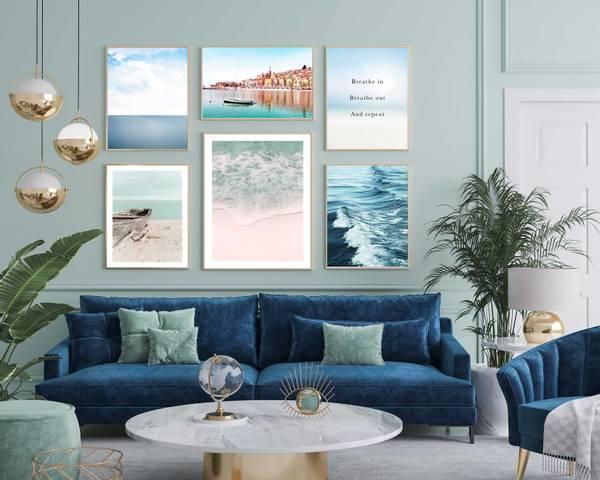 Bilde av Waves of the sea plakat