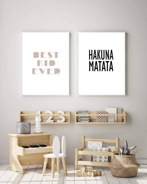 Bilde av HAKUNA MATATA N02 PLAKAT