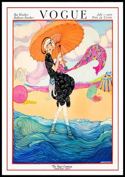 Bilde av Retro Vogue cover plakat