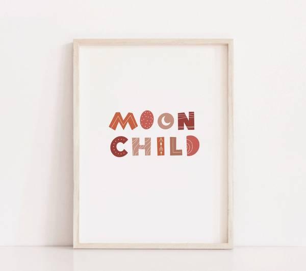 Bilde av MOON CHILD POSTER