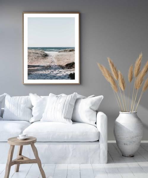 Bilde av TO THE BEACH PLAKAT