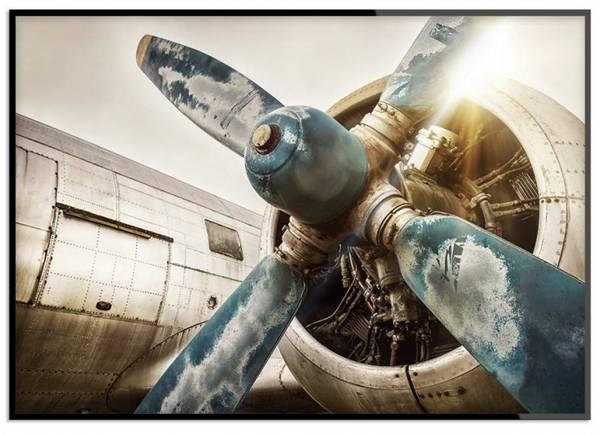 Bilde av VINTAGE FLIGHT POSTER