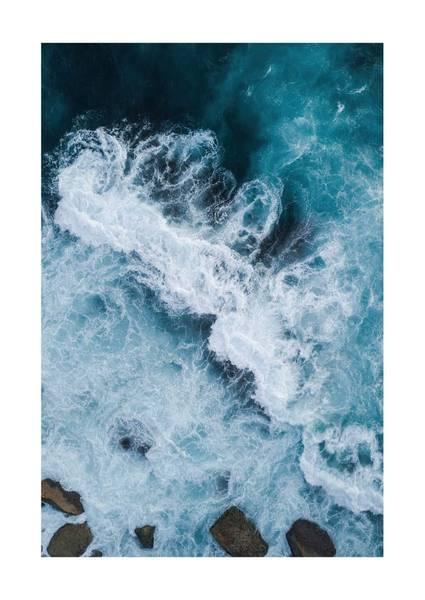 Bilde av OCEAN CLOSE UP NO.1 PLAKAT