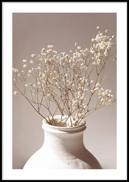 Bilde av FLOWER VASE PLAKAT