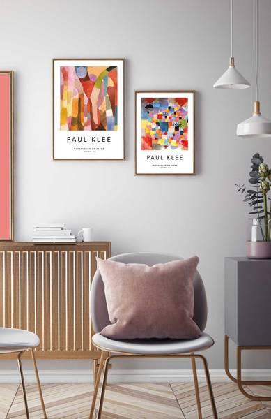 Bilde av Paul Klee no1 kunstplakat