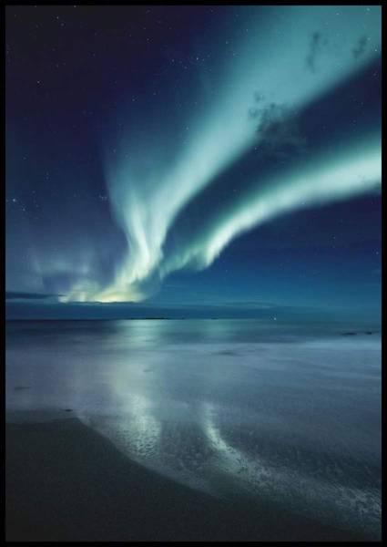 Bilde av NORTHERN LIGHTS PLAKAT