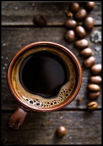 Bilde av Coffee and beans plakat