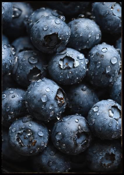 Bilde av Blueberries plakat