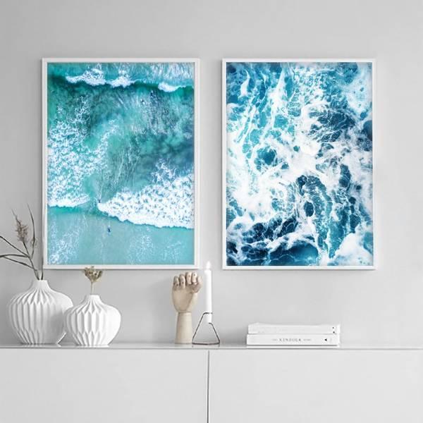 Bilde av CLOSEUP OCEAN POSTER