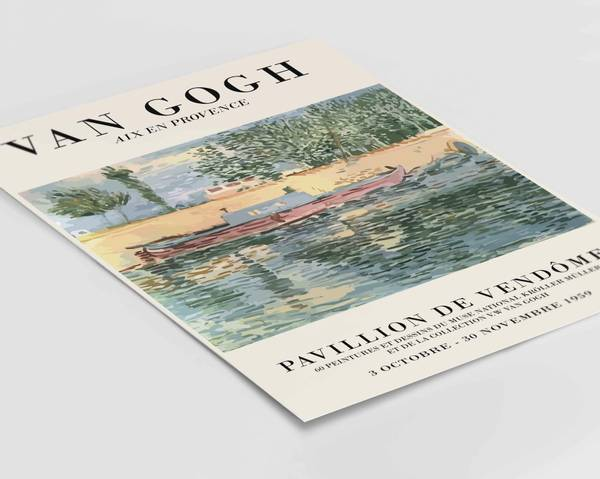 Bilde av Van Gogh Aix En Provence no 1 plakat