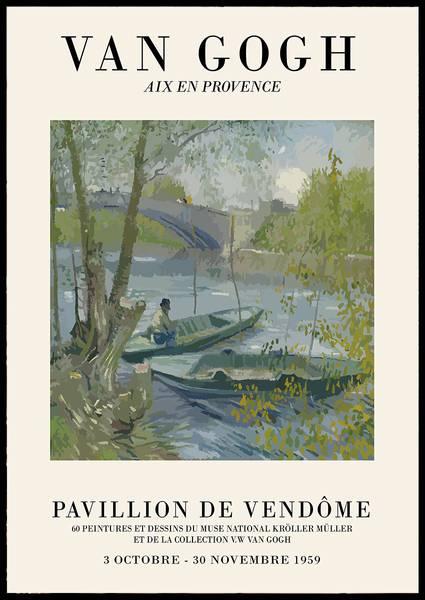 Bilde av Van Gogh Aix En Provence no 2 plakat