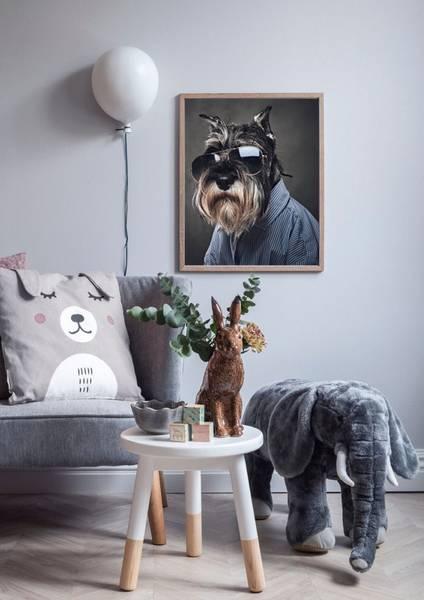 Bilde av DOG WITH SHADES POSTER