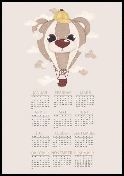 Bilde av Bamse luftballong 2021 kalender
