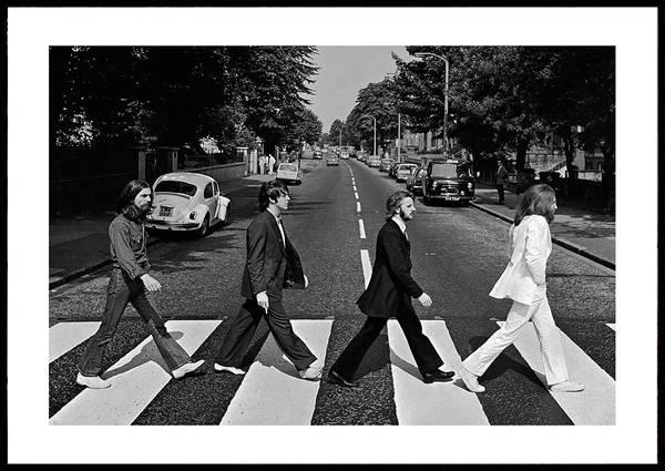 Bilde av The Beatles ikonisk plakat