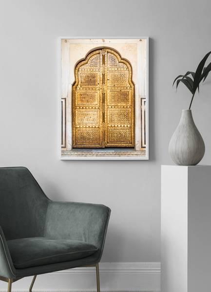 Bilde av GOLD DOOR POSTER