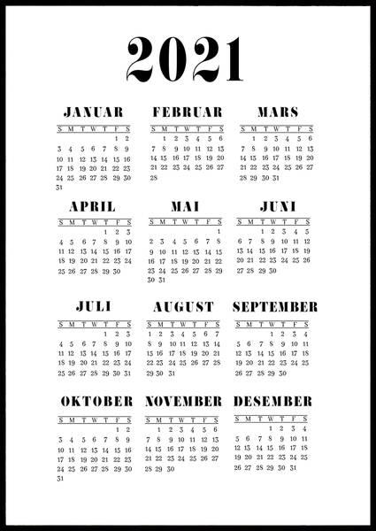 Bilde av Klassisk 2021 kalender