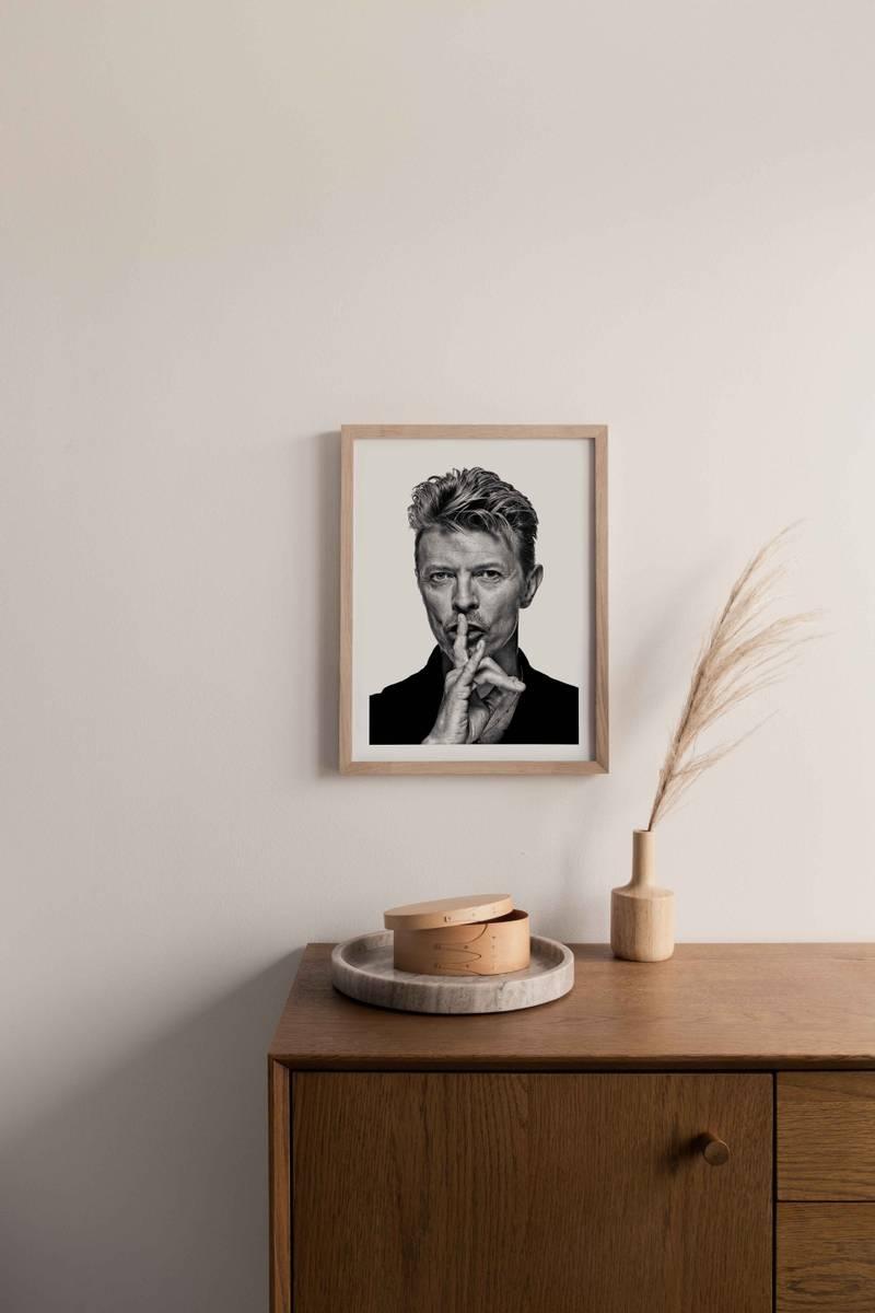 David Bowie ikonisk plakat