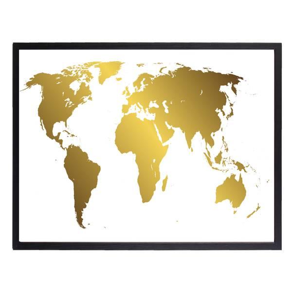 Bilde av GOLDEN WORLD POSTER