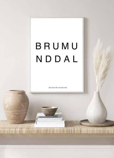 Bilde av BRUMUNDDAL POSTER